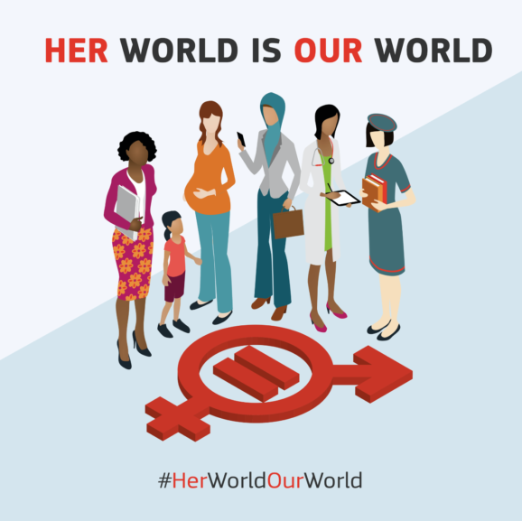 Her World Our World / Gender Equality day 25/05/2018 / Global Concept Consulting
