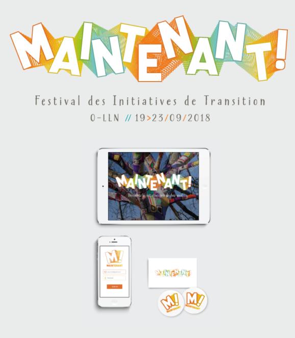Maintenant / Festival des Initiatives de Transitions 19-23/09/2018 / Springtime Brussels